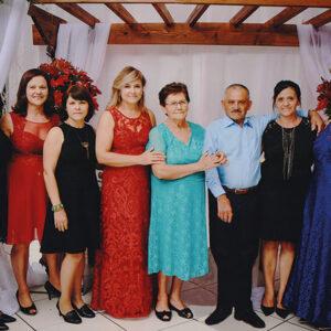 Homenagem pelo aniversário de Rosina Dalbosco da Costa