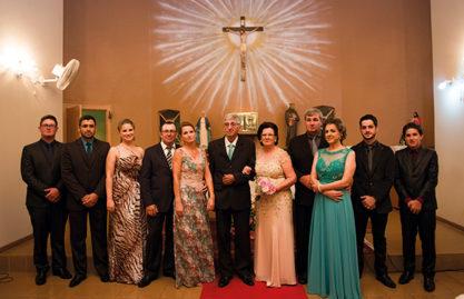 Homenagem pelas Bodas de Ouro do casal Valda e João Carlos Castilhos