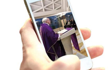 A fé nos ambientes digitais