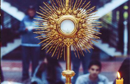 Eucaristia: Nossa autoestrada para o céu